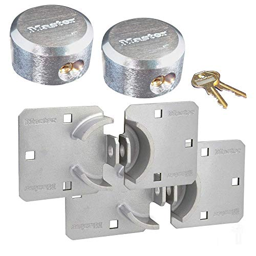 Master Lock Hasp/Hidden Shackle Keyed Alike Padlocks 770-6271KA-2