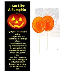 I Am Like a Pumpkin Inspirational Halloween Bookmarks