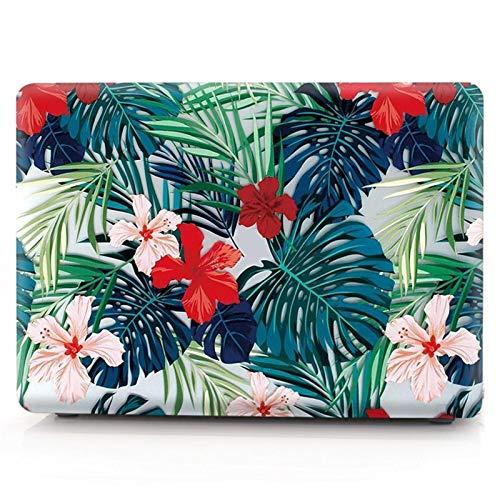 Yhuisen Funda de diseño floral compatible con Huawei Matebook D 16 D16 2021 Map Leaf Hard Laptop Cover compatible con Matebook 16 2021 (color : hoja 3, tamaño: para Matebook D16)