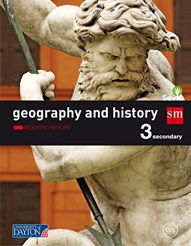 Geography and history. 3 Secondary. Savia: La Rioja, Murcia, Navarra, País Vasco, Galicia, Madrid, Cantabria, Castilla-La Mancha, Canarias, Cataluña, Ceuta, Melilla - 9788416346837