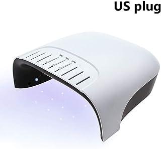 ZNND Inteligente Lámpara De Uñas Lámpara UV 72W LED For La Manicura Nails Secadora De Curado De Uñas del Gel del Arte del Clavo Herramientas Salon (Size : A)