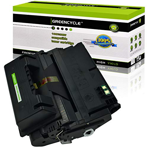 GREENCYCLE 20000 Pages per Toner Cartridge Replacement Compatible for HP 42X Q5942X High Yield Used in Laserjet 4250 4250dtn 4250n 4350 4350dtn 4350dtnsl 4350n 4345MFP (Black, 1-Pack)