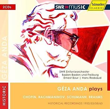 Chopin, F. / Rachmaninov, S. / Schumann, R. / Brahms, J.: Piano Concertos (1952-1963)