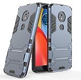Motorola Moto E5 / Moto G6 Play Funda, FoneExpert Heavy Duty Silicona Slim híbrida con Soporte Cáscara de Cubierta Protectora de Doble Capa Funda Caso para Motorola Moto E5 / Moto G6 Play