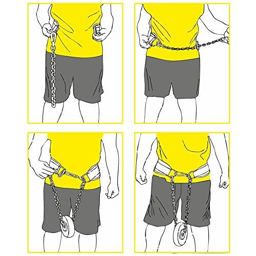 Dip-Gürtel Standard G5-1, Gürtel für Zusätzliches Gewicht bei Klimmzügen & Dips – C.P.Sports - 4