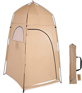 Portable Outdoor Shower Bath Changing Fitting Room Tent Shelter Camping Beach Privacy Toilet