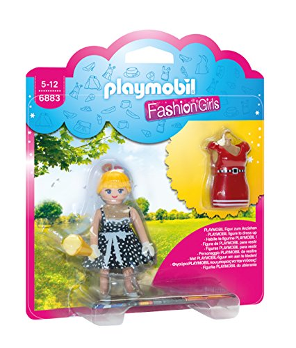 Playmobil Tienda de Moda Girl Muñecas fashion, multicolor, 15 x 4 x 16,8 cm (Playmobil 6883)
