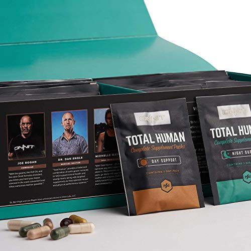 commercial ONNIT Total Human – Daily Vitamin Packs for Men and Women (60 Packs) – More than 10x Multivitamins –… vitamin packs