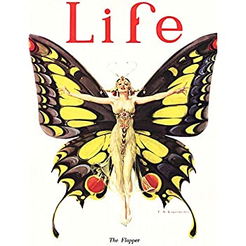 Wee Blue Coo Magazine 1922 Life Butterfly Dancer Art Large Art Print Poster Wall Decor 18x24 inch