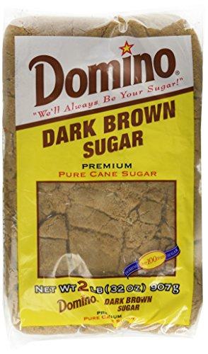 Domino Dark Brown Sugar 2 Lb