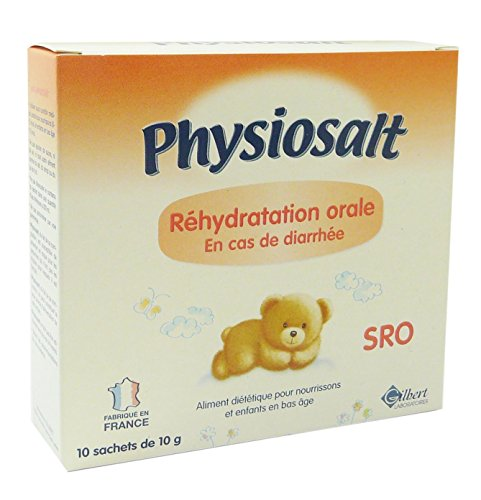 Physiolac Physiosalt Soluté de Réhydratation Oral 10 sachets