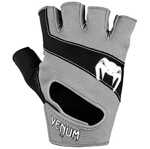Venum hyperlift Training Handschuhe, Hyperlift Training Gloves, schwarz/grau, L-XL