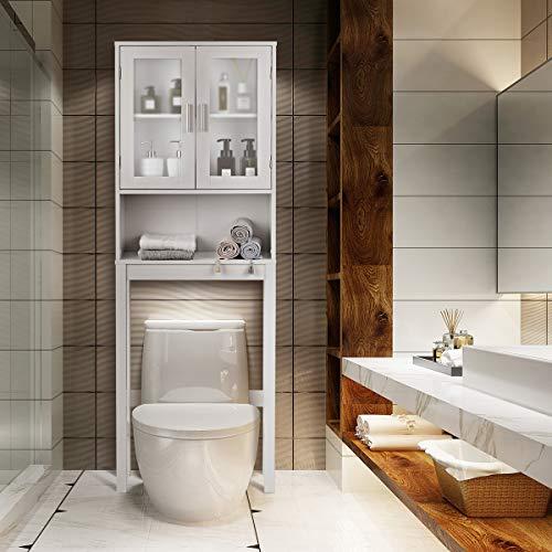 BestComfort Over The Toilet Cabinet Storage, Bathroom...
