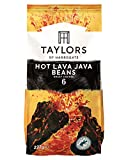 Taylors of Harrogate Hot Lava Java Coffee Beans, 227g (Pack of 6)