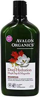 Avalon Organics, Shampoo Deep Hydration Maple Sap And Magnolia, 11 Ounce