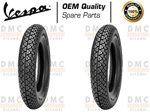 Kit de 2 neumáticos neumáticos 3.50-10 Vespa PX todos los modelos – Vespa Arcobaleno – Vespa LML Star