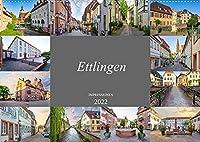 Ettlingen Impressionen (Wandkalender 2022 DIN A2 quer): Einmalig beeindruckend schoene Bilder der Stadt Ettlingen (Monatskalender, 14 Seiten )