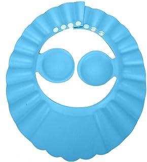 Cappello da bagno, Cappello da doccia per bambino, Cappello da bagno per shampoo, Schermo parasole per capelli in silicon...