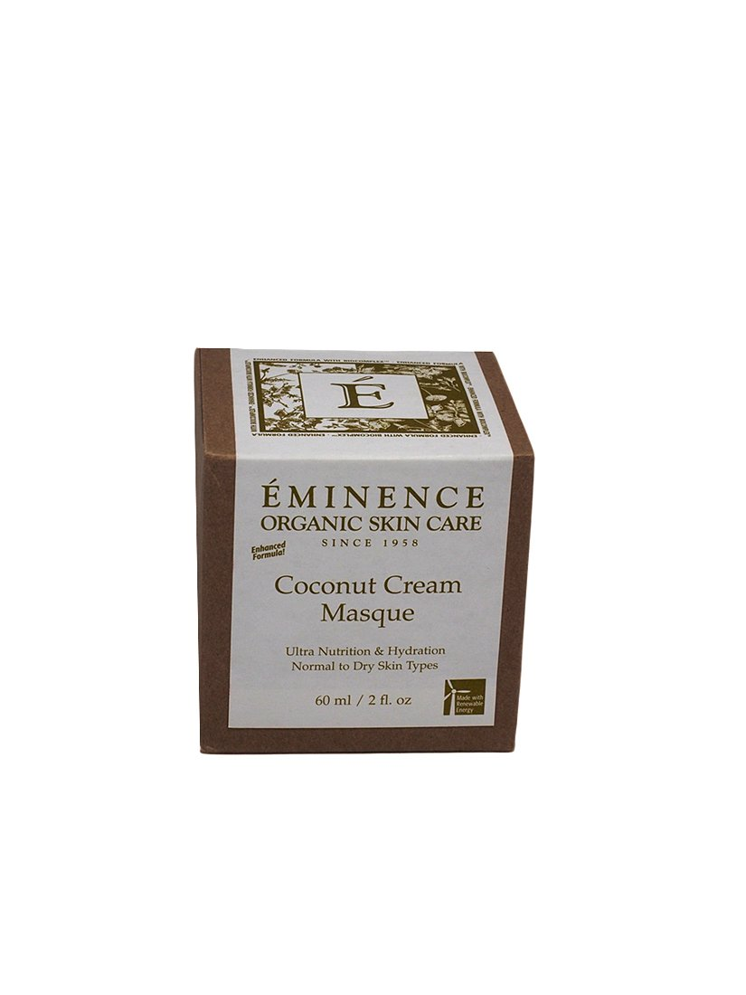 Eminence Organic Skincare Masque, Coconut Cream, 2 Fluid Ounce
