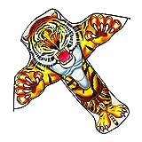 Wr Cometa de Dibujos Animados de Tigre/león para niños y Adultos