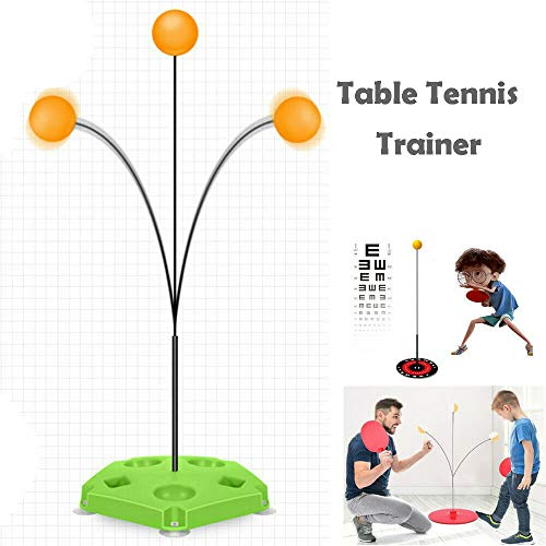 For Sale! MISOWN Table Tennis Trainer Elastic Shaft Leisure Decompression Sports Rapid Backbound Mac...