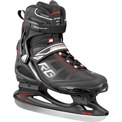 Rollerblade Ice Herren 0P500300-741 Schlittschuh Spark XT Ice schwarz/rot - 26