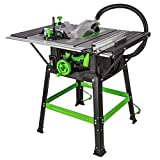 Evolution Power Tools Fury 5-S Table Saw With Multi-Material Cutting,...