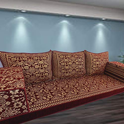Spirit of 76 Arabic majlis floor seating sofa couch with interior fillings / SHI_FS358