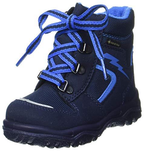 Superfit Baby Jungen Husky1 Schneestiefel, Blau Blau 8000, 30 EU