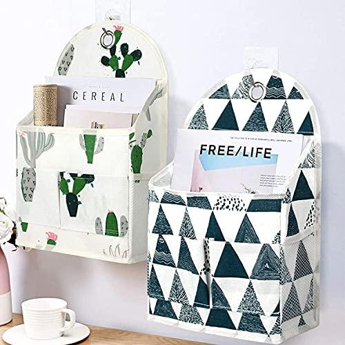 Onlyup Estantería colgante plegable con bolsa de almacenamiento para habitación infantil, baño,...