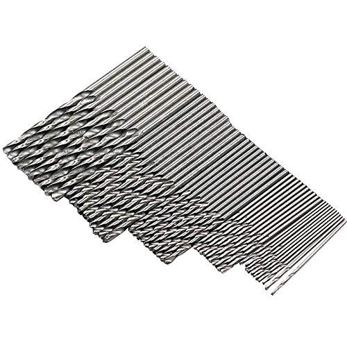 50pcs/lot Drill Bits for Metal Wood Working HSS Steel Straight Shank 1-3mm Twist Drill Bit Power Tools Wholesale