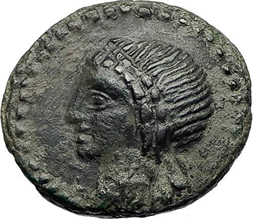 1000 GR Alaisa Archonidea Sicily RARE R1 Authentic Ancien coin Good