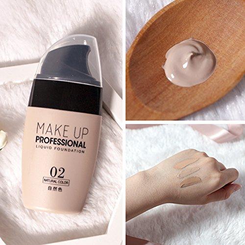 ZUZU Crème Base Crème Visage Correcteur Longue Durée Liquide Air Base Coussin Sun Block Maquillage,02