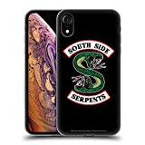 Head Case Designs Offizielle Riverdale South Side Serpents Grafik Kunst Soft Gel Huelle kompatibel mit iPhone XR