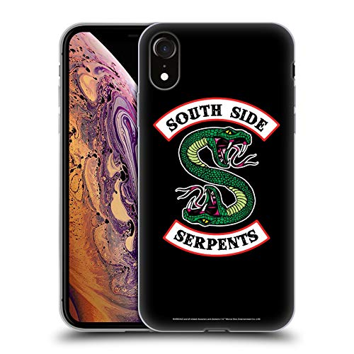Head Case Designs Ufficiale Riverdale South Side Serpents Arte Grafica Cover in Morbido Gel Compatibile con iPhone XR