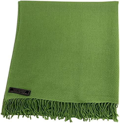 CJ Apparel 100% kasjmier dubbellaagse sjaals, handgemaakt in Nepal schouderdoek, sjaal, omslagdoek