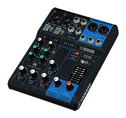 top 10 small audio mixer Yamaha MG06 Compact Stereo Mixer 6 Inputs