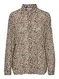 Vero Moda Vmjosephine LS Shirt VMA Blusa, Multicolor (Birch AOP: Josephine), Small para Mujer