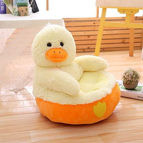 Dehcye Cartoon Lovely Teddy Bear Panda Unicorn Duck Kids Sofa Chair Plush Toys Seat Baby Nest Sleeping Bed Adult Pillow Stuffed Cushion Duck