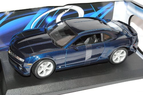 Maisto Chevrolet Chevy Camaro SS RS Coupe Blau Ab 2009 1/18 Modell Auto