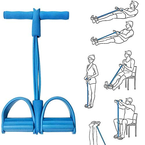 Fitness Sit-up Exercise Equipment Leg Trainer for Home Gym Yoga Workout Multifunction Arm Leg Exercise Slimming Training Abdominal Training (Blue)