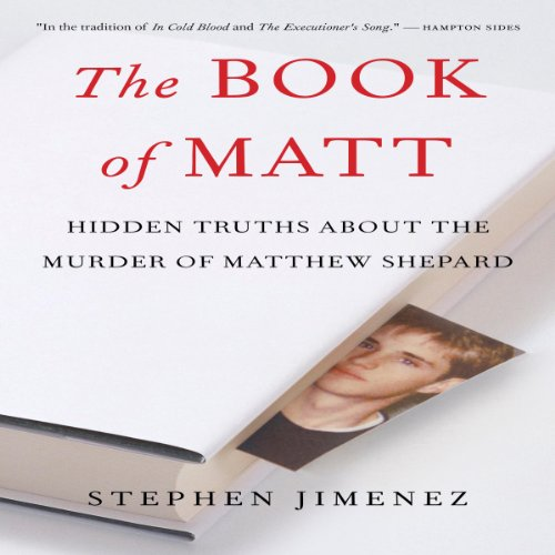 The Book of Matt audiobook cover art