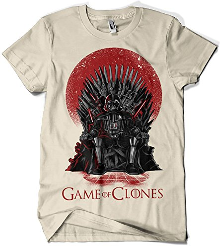 Camisetas La Colmena, 035 - Game of Thrones - Game of Clones (M,...