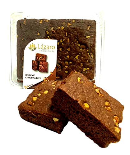 Lázaro Brownie Choco-Nueces Cacao, 320 Gramos
