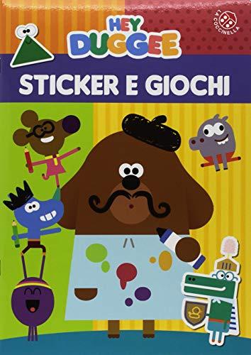 Hey Duggee. Sticker e giochi. Confezione da 3 copie