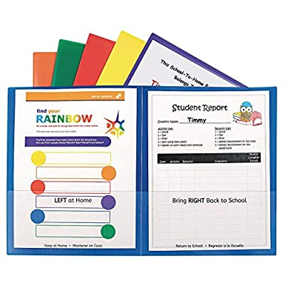 C-Line Classroom Connector School-to-Home Folders from VAUP9