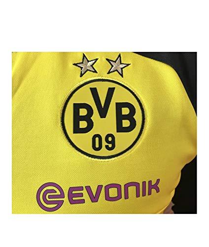 PUMA Herren Mantel BVB Training Sweat with Sponsor Logo, Cyber Yellow-puma Black, S, 751775 01