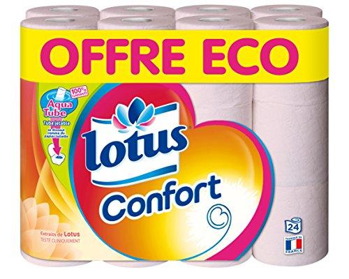 Lotus Komfort 24Aquatube Rollen Toilettenpapier