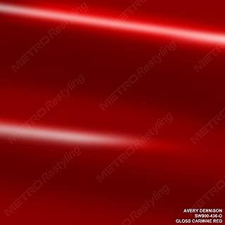 gloss carmine red wrap