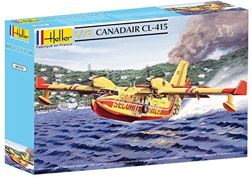 Heller 80370 - Modellino da Costruire, Canadair Cl 415, Scala 1:72 [Importato da Francia]